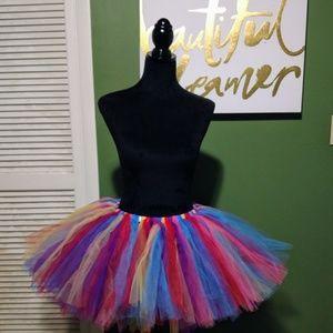 Dresses & Skirts - Rainbow tutu adult size